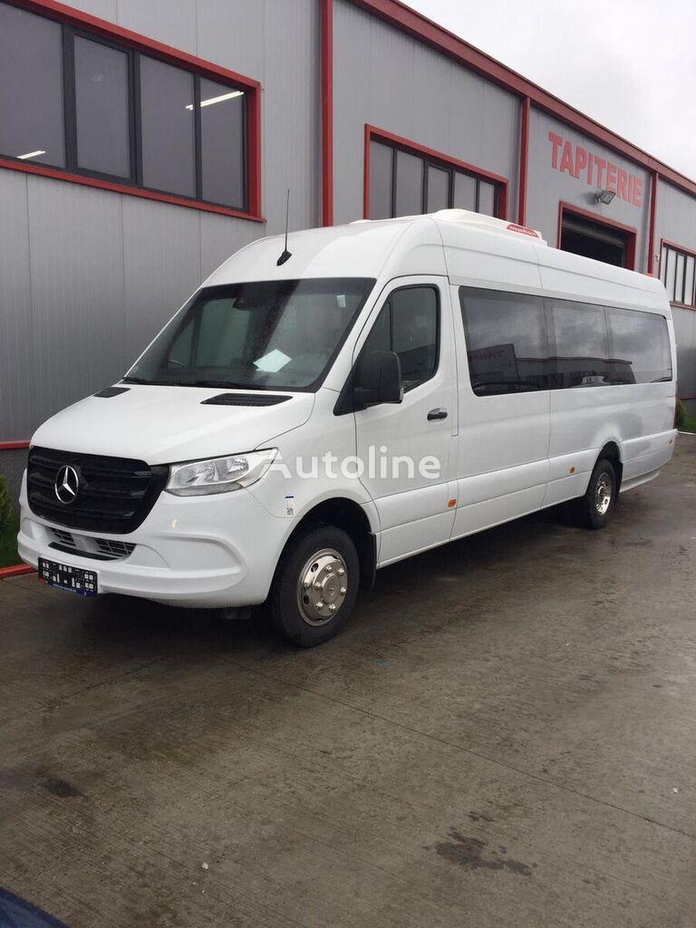 carrinha de passageiros MERCEDES-BENZ Sprinter IDILIS 516,  22+1+1  *COC*  prolonged with 50cm fiber/s novo