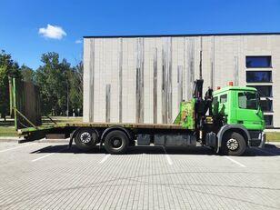 caminhão de reboque MERCEDES-BENZ  Actros 2536,Fassi 170A.22 Funk,Seilwinde Funk