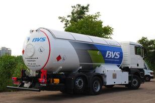 caminhão-tanque gás MAN Эверласт novo