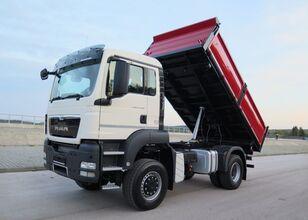 camião basculante MAN TGS 18.440 4x4, NA RESORACH, MANUAL, WYWROTKA 3-STRONNA
