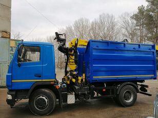 camião basculante MAZ авто с КМУ, борт, самосвал novo