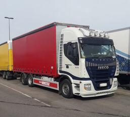 camião com lona deslizante IVECO Stralis AS260S500  6x2
