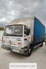 camião com lona deslizante RENAULT Midliner M140.13 left hand drive 6 cylinder 13 ton full springs