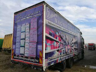 camião com lona deslizante SCHWARZMÜLLER LBA ROLÓPONYVÁS FELÉPÍTMÉNY