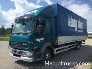 camião de toldo DAF LF 55 250 plandeka + winda Sprowadzony ze Szwajcarii