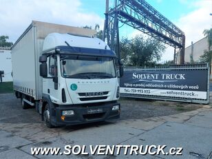 camião de toldo IVECO Eurocargo 120E25,EEV, shrnovačka + čelo