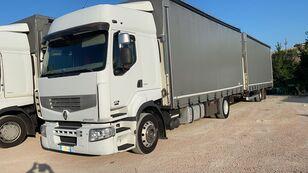 camião de toldo RENAULT PREMIUM 450 euro 5 biga