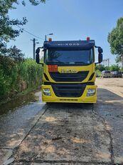 camião de transporte de combustivel OMSP Iveco stralis
