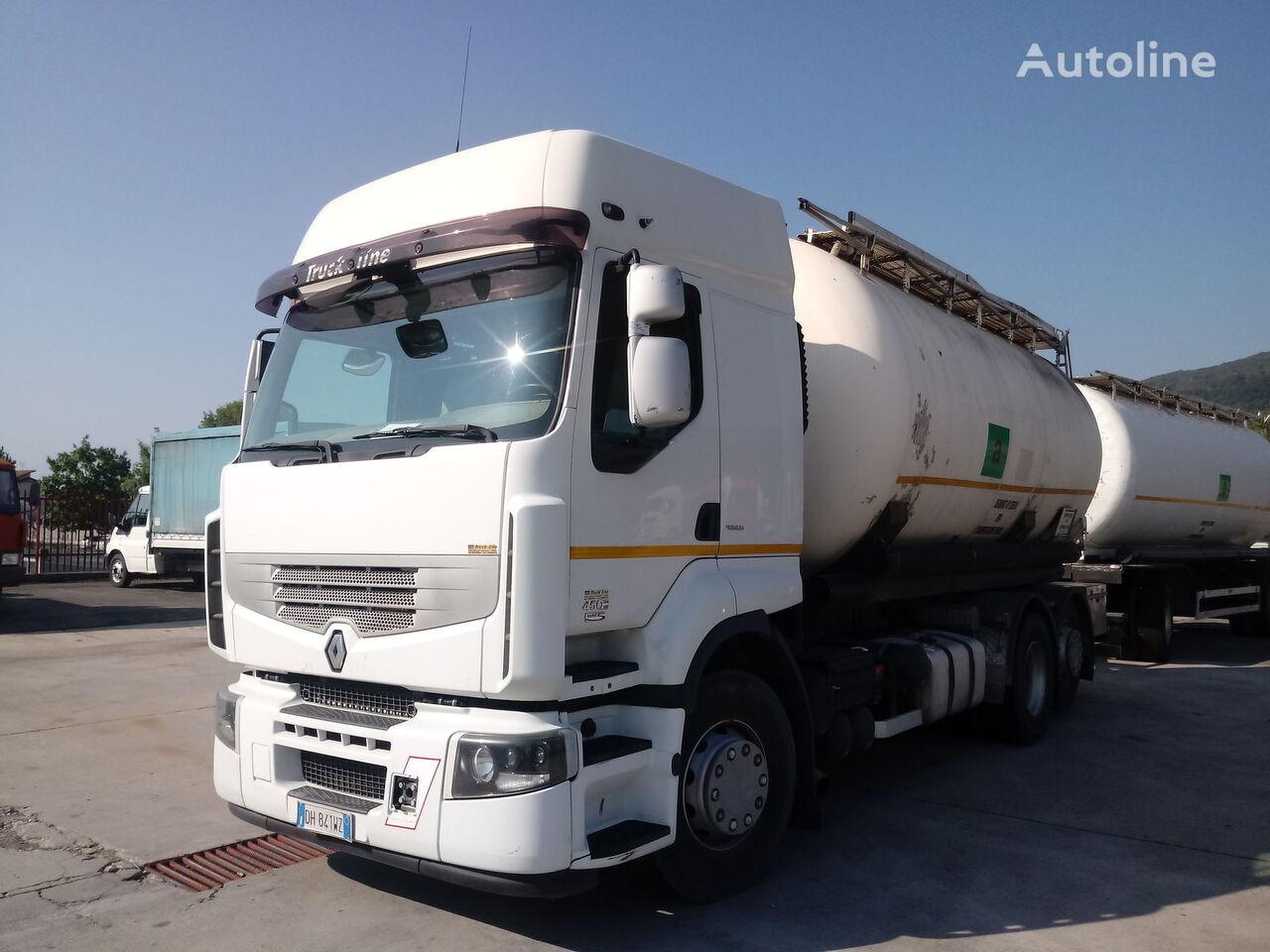camião de transporte de farinha RENAULT PREMIUM 450 DXI