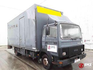 camião de transporte de gado IVECO Magirus 80 16 horse truck