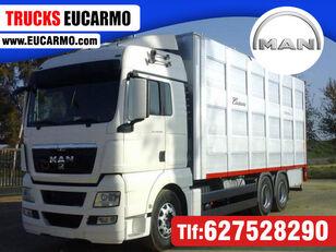 camião de transporte de gado MAN TGX 28 480