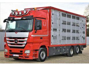 camião de transporte de gado MERCEDES-BENZ Actros 2548 6x2 Élőállat-szállító