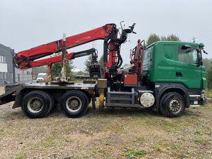 camião de transporte de madeira SCANIA R500 V8 6x4 Euro5 EPSILON 300