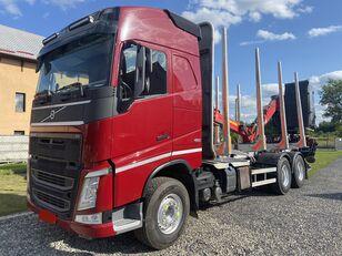 camião de transporte de madeira VOLVO FH460 6x4 Loglift 96ST