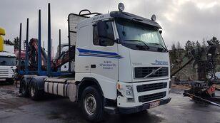 camião de transporte de madeira VOLVO FH480