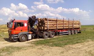 camião de transporte de madeira MAN TGS 26.480 6x4 BB