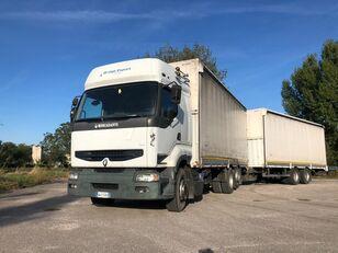 camião de venda RENAULT PREMIUM 420 DCI + biga Omar