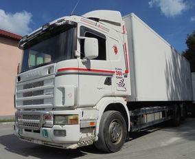 camião frigorífico SCANIA R114 380