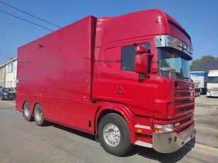 camião furgão SCANIA 144 G  460  V8   6x2  ///MANUEL//RETARDER///FRENCH TRUCK///