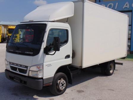 camião furgão MITSUBISHI FUSO CANTER 3S13