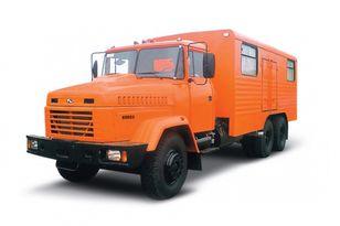 camião militar KRAZ 65053 мастерская novo