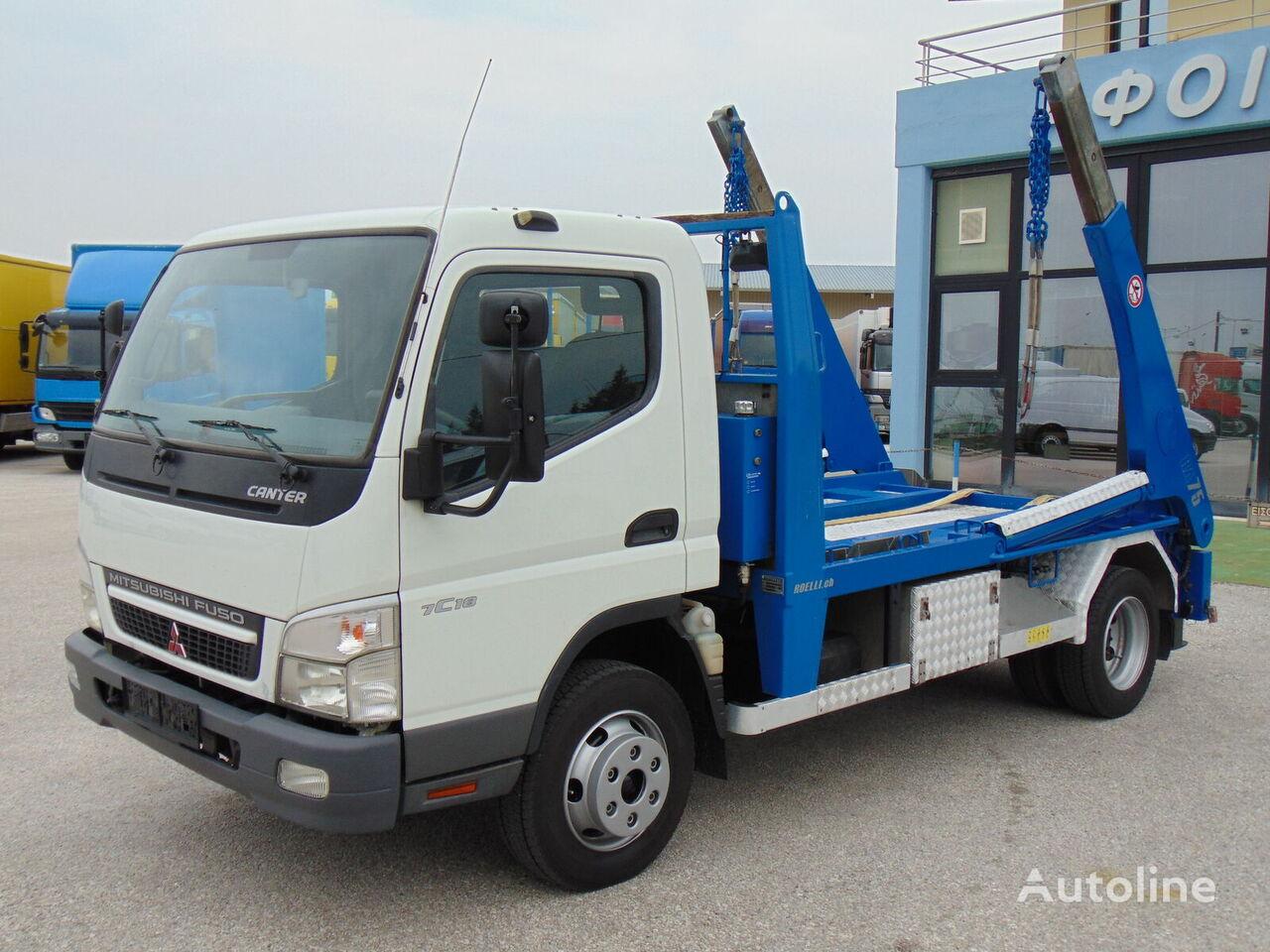 camião multibenne MITSUBISHI FUSO CANTER 7C18
