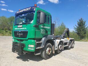 camião polibenne MAN TGS 35.480