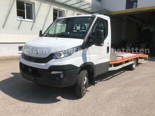 camião porta-automóveis IVECO Daily 50 C 18 Járműszállító Csörlővel és Rámpával