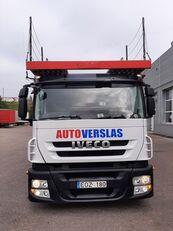 camião porta-automóveis IVECO STRALIS + reboque porta carros