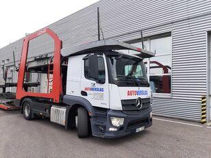 camião porta-automóveis MERCEDES-BENZ ACTROS + reboque porta carros