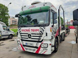 camião porta-automóveis MERCEDES-BENZ Actros + Lohr + návěs na přepravu automobilů