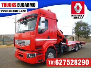 camião porta-automóveis RENAULT PREMIUM 460