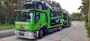 camião porta-automóveis RENAULT Premium 410 + reboque porta carros