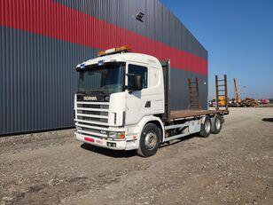camião porta-automóveis SCANIA 124.400