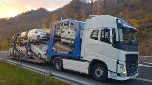 camião porta-automóveis VOLVO FH13 500