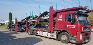 camião porta-automóveis VOLVO FM 400 + reboque porta carros