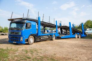 camião porta-automóveis VOLVO FM 4x2 R + reboque porta carros