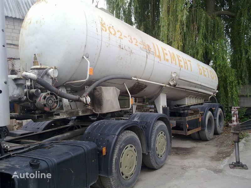 cisterna de transporte de cimento NPC-22