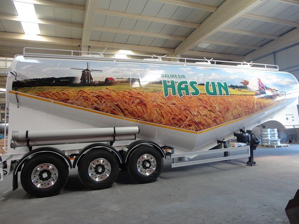 cisterna de transporte de farinha ALI RIZA USTA Mukovoz novo