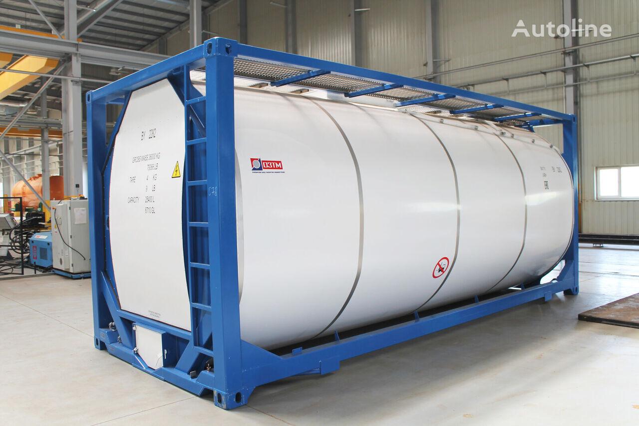 contentor-cisterna 20 pés T11-254 novo