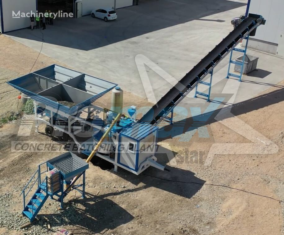 central de betão PROMAX Mobile Concrete Batching Plant M35-PLNT (35m3/h) novo