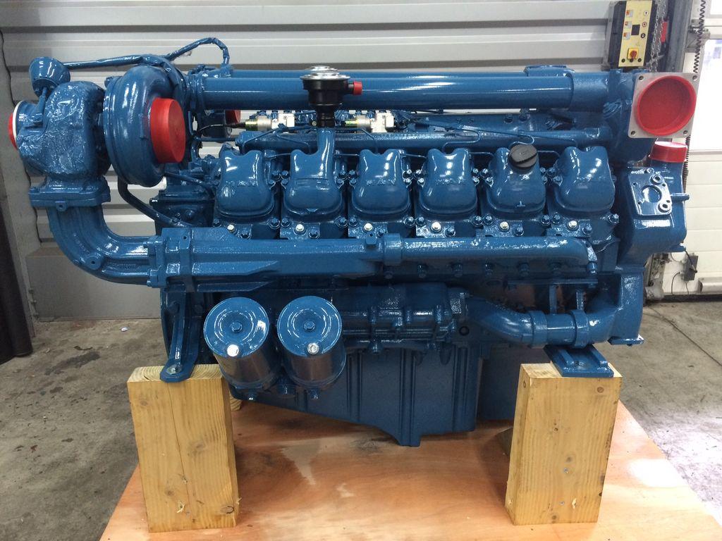 motor MAN D2842LE103 para grua de pórtico novo