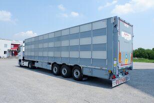semi-reboque transporte animais PEZZAIOLI SBA63 (у наявності, в Києві) novo